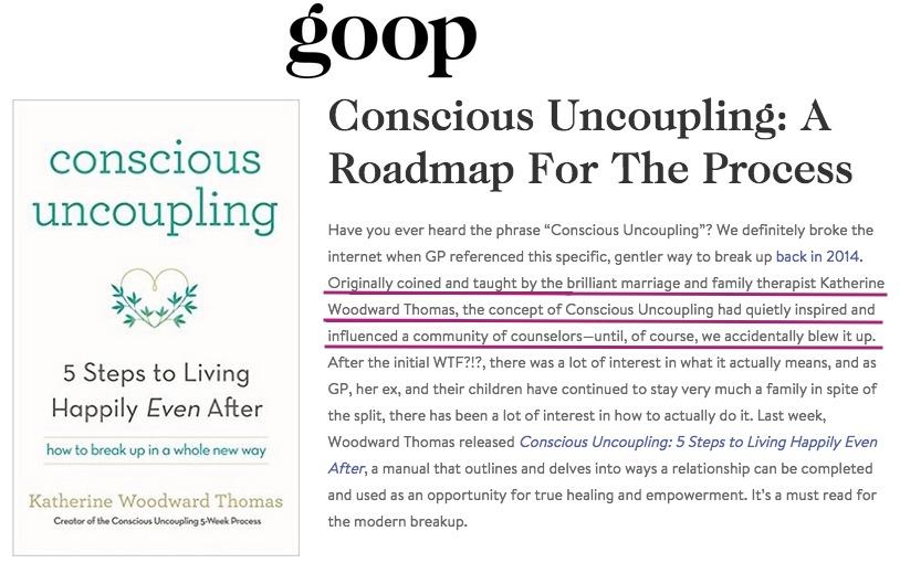 conscious uncoupling coaches