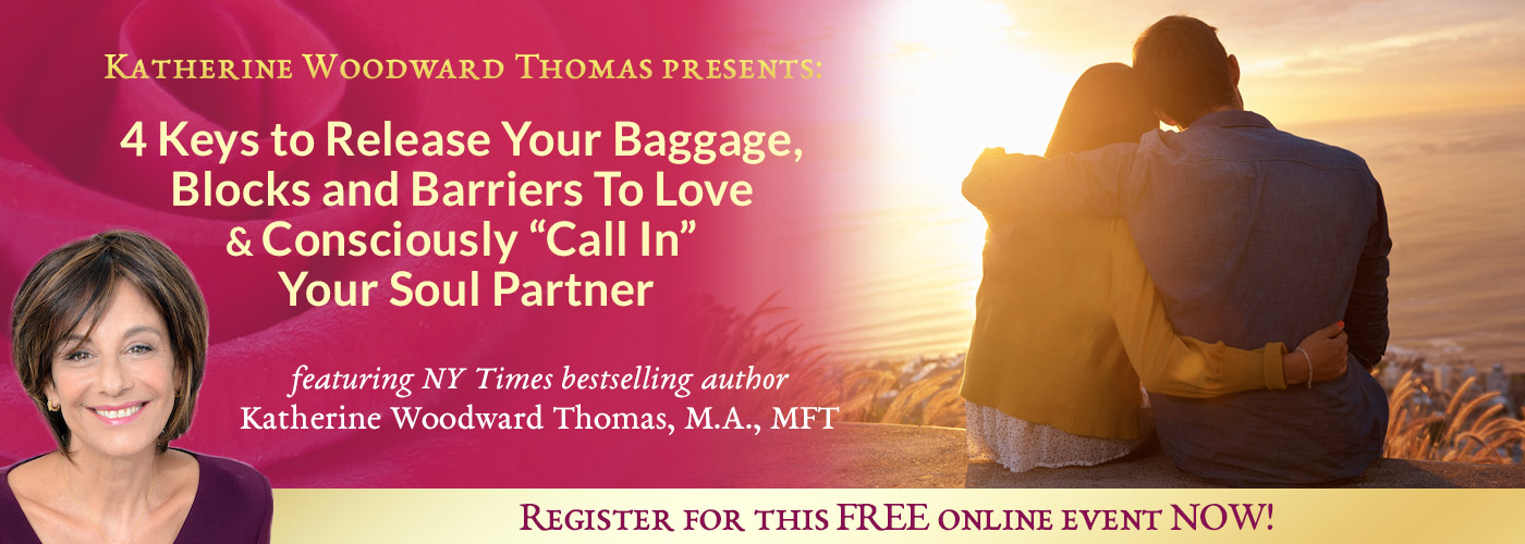call in your soul partner with katherine woodward thomas