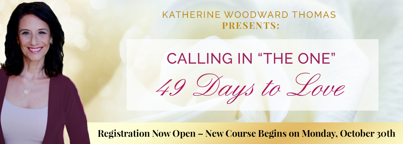 calling in the one course with katherine woodward thomas
